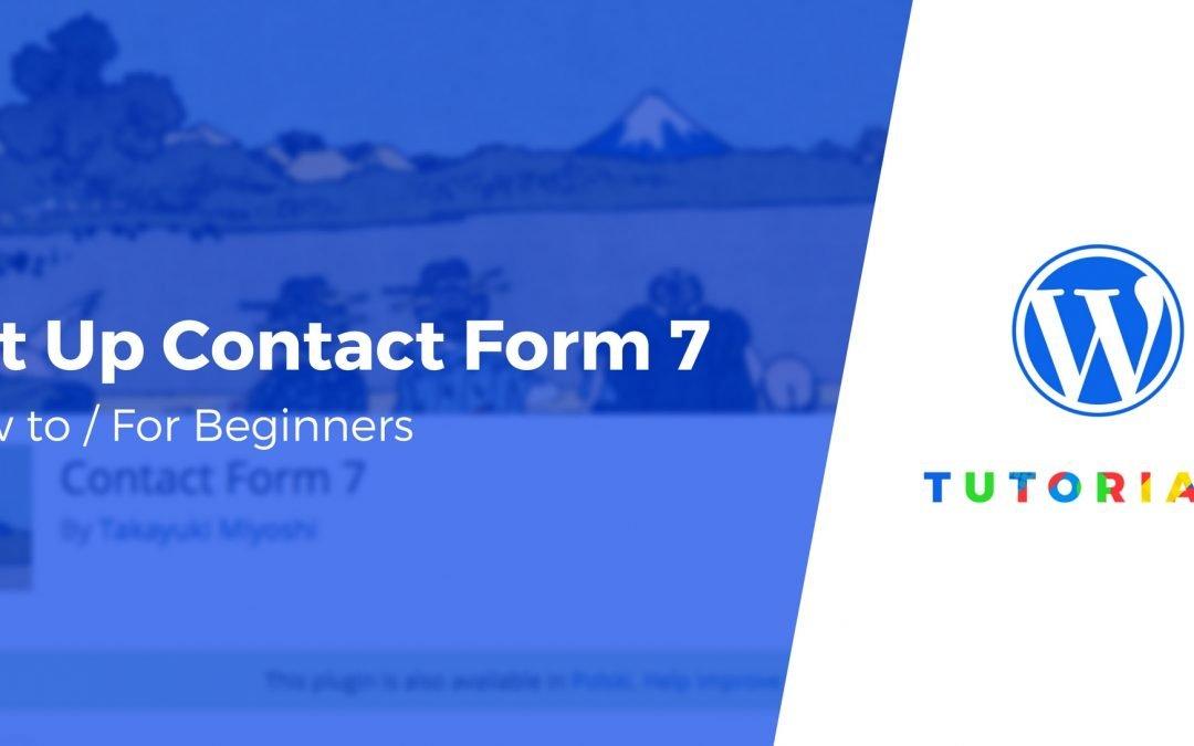 De stijl van Contact form 7 aanpassen zodat deze past bij je website?