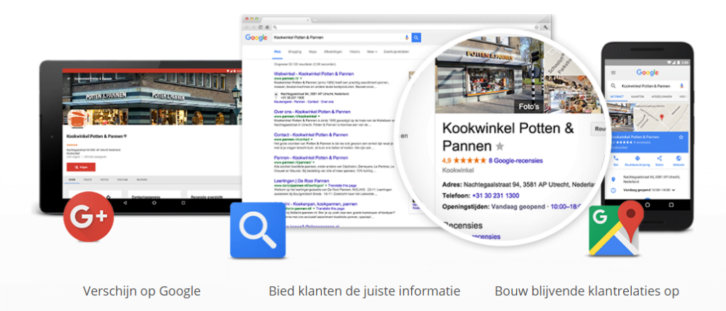 Regionale online marketing via Google